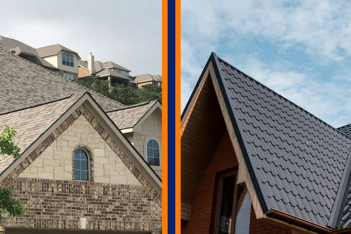 asphalt vs metal roof in san antonio