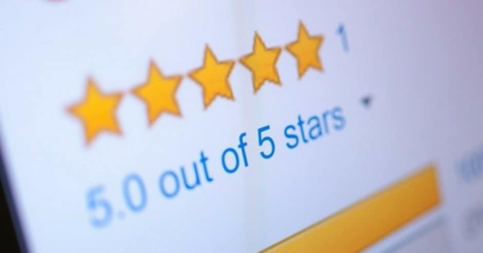 a 5-star google review for a san antonio business