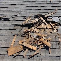 storm restoration needed on damaged san antonio roof
